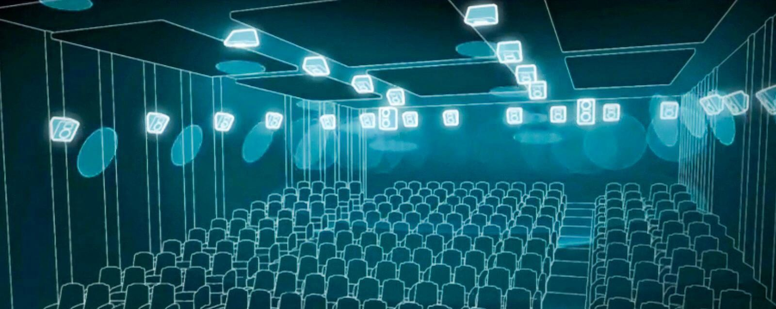 Dolby Atmos in Saal 1